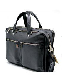Мужская кожаная сумка-портфель для ноутбука и документов TA-4664-4lx TARWA
