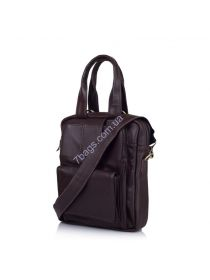 Кожаная мужская сумка мессенджер - трансформер GC-7266-1md TARWA