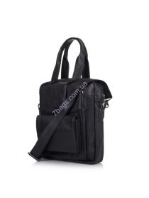 Кожаная мужская сумка мессенджер - трансформер GA-7266-1md TARWA