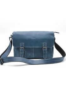 Мужская кожаная сумка через плечо мессенджер TARWA, RK-6002-3md