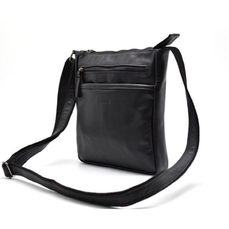596f2aa77047 Мужская кожаная сумка через плечо, мессенджер GA-1300-3md TARWA
