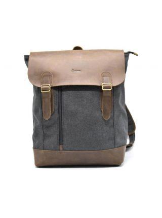 Мужской рюкзак городской кожа+ткань RG-3880-3md TARWA