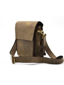 Мужская кожаная сумка через плечо, мессенджер RC-3027-3md TARWA