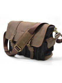 Мужская сумка через плечо, мессенджер парусина+кожа RG-6690-4lx Tarwa