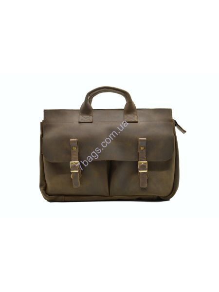 Мужская кожаная сумка и портфель для ноутбука RC-7107-1md TARWA