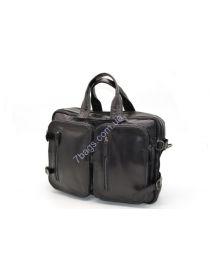 Мужская кожаная сумка-рюкзак трансформер GA-7014-1md TARWA