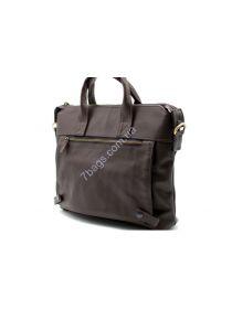 Кожаная мужская сумка коричневая TARWA, GC-7120-2md